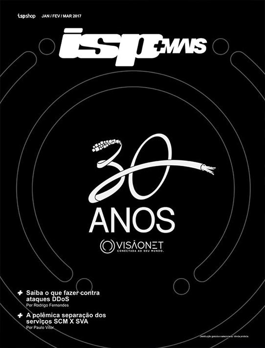 Capa ISPMAIS - VISÃONET: 30 anos de Futuro