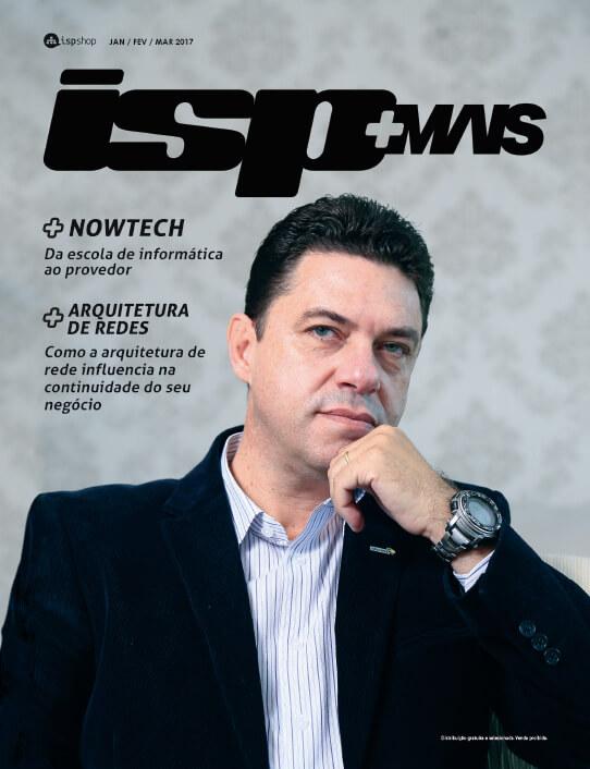 Capa ISPMAIS - Nowtech: da escola de informática ao provedor