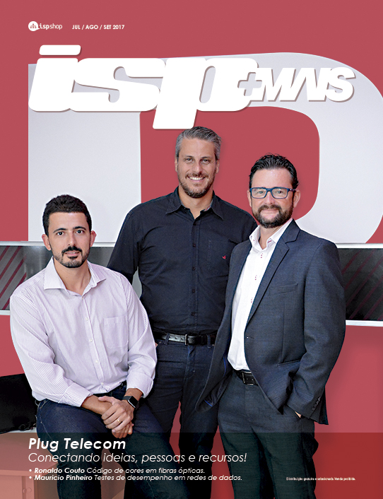 Capa ISPMAIS - Plug Telecom: Conectando ideias, pessoas e recursos!