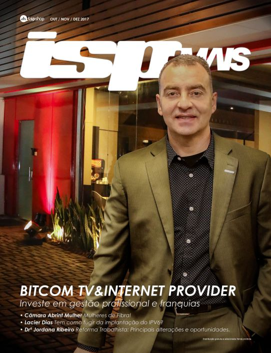 Capa ISPMAIS - Bitcom TV e Internet Provider: Investe em gestão profissional e franquias!