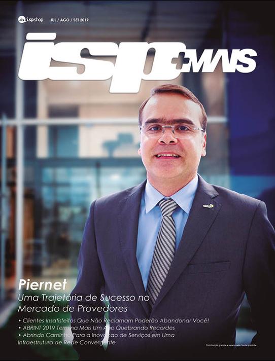 Capa ISPMAIS - PIERNET: Uma Trajetória de Sucesso no Mercado de Provedores