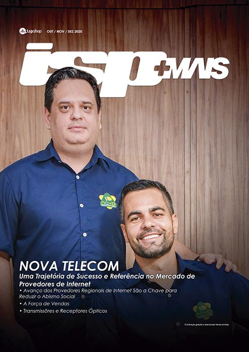 Capa ISPMAIS - NOVA TELECOM: Uma Trajetória de Sucesso e Referência no Mercado de Provedores de Internet