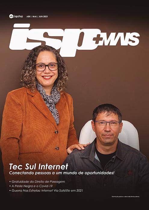 Capa ISPMAIS - Tec Sul Internet: Conectando pessoas a Oportunidades!